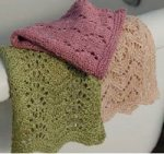lace washcloth